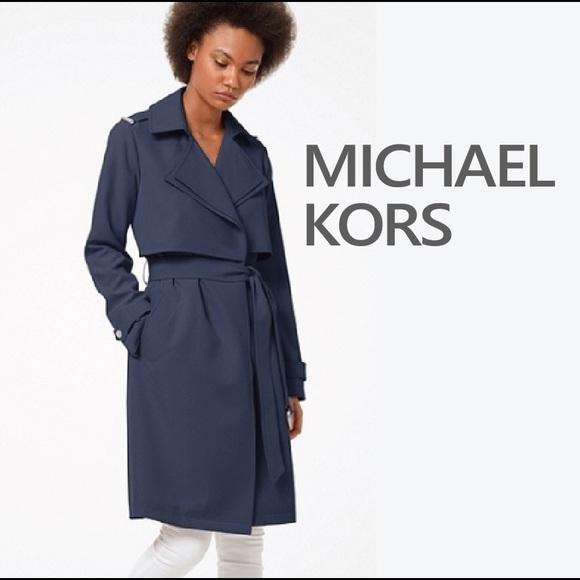official photos 642a8 4043c Authentic Michael Kors Elegant 2019 Trench Coat